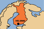 map: Finland